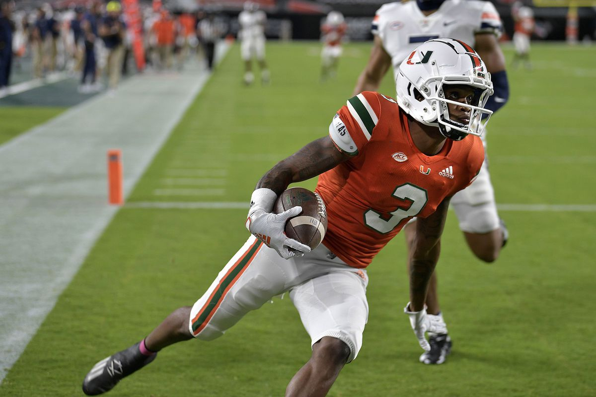 Miami will continue wide receiver competition, wants to see linebackers cut it loose