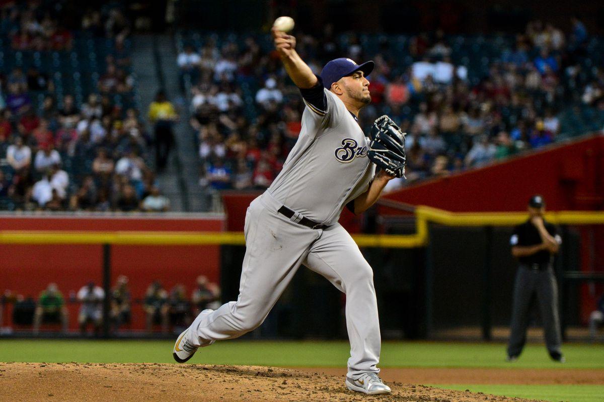 MLB: Milwaukee Brewers at Arizona Diamondbacks