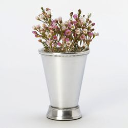 """Bright and shiny, the <a href=""""http://www.shopterrain.com/sale-home/mint-julep-vase/productOptionIDs/bd0459cc-8958-45c4-b120-330bd8a8856a"""">Mint Julep Vase</a> ($11.97) is pretty enough to stand on its own, but would look even better filled with your pal's"""