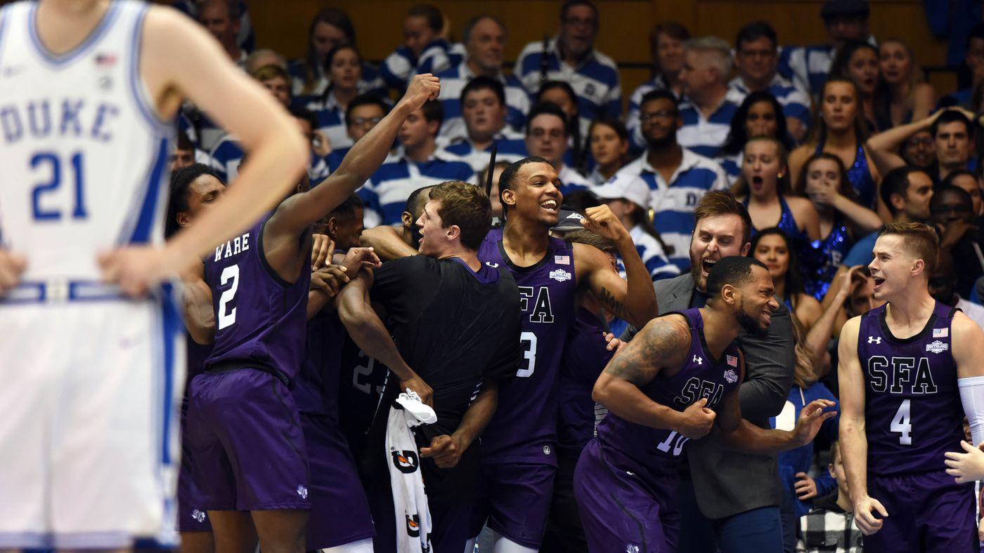 Duke Lost at Home to Stephen F. Austin. Seriously.