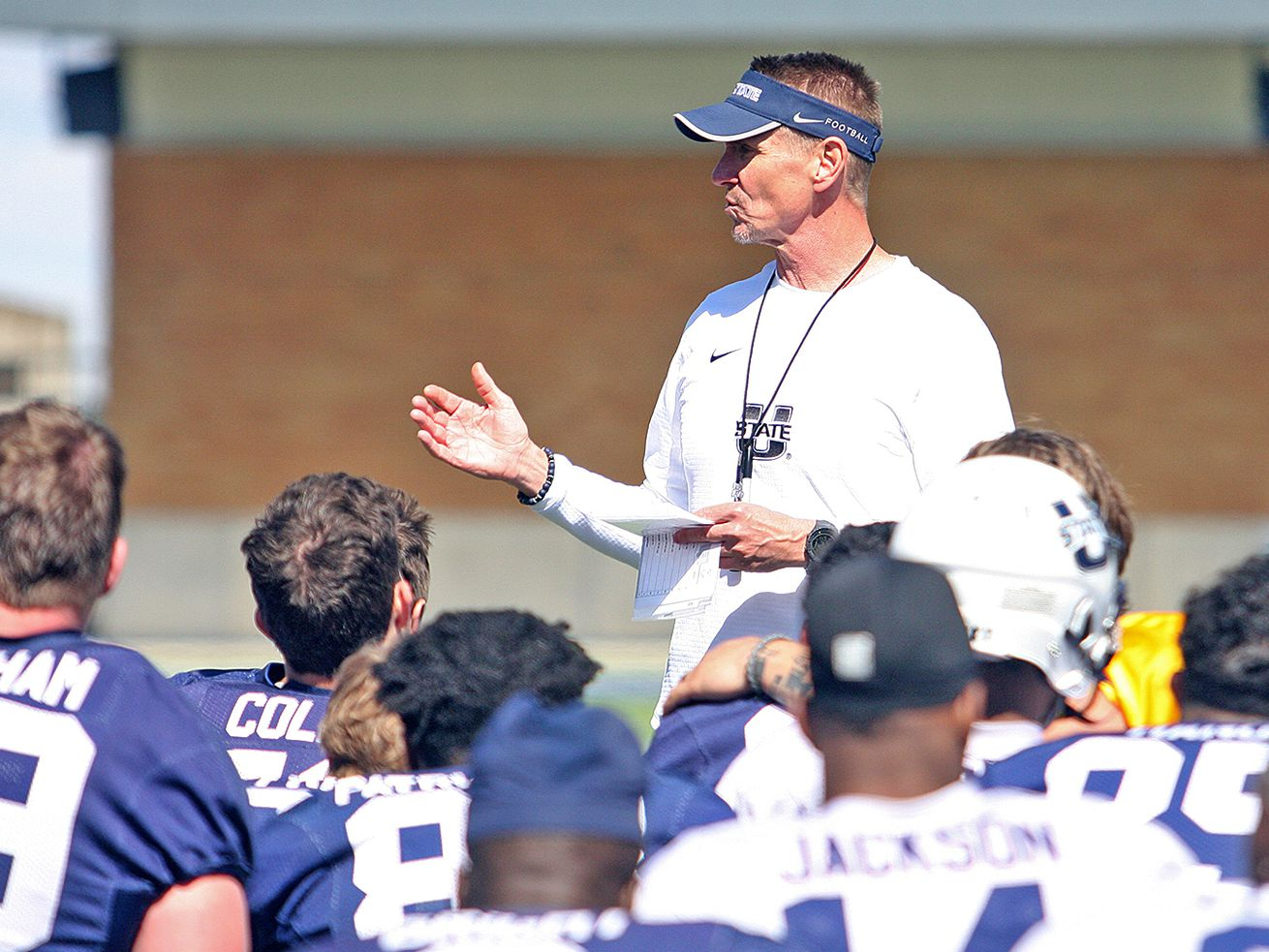 How Gary Andersen balances commitment to student-athletes and head coaching responsibilities at Utah State