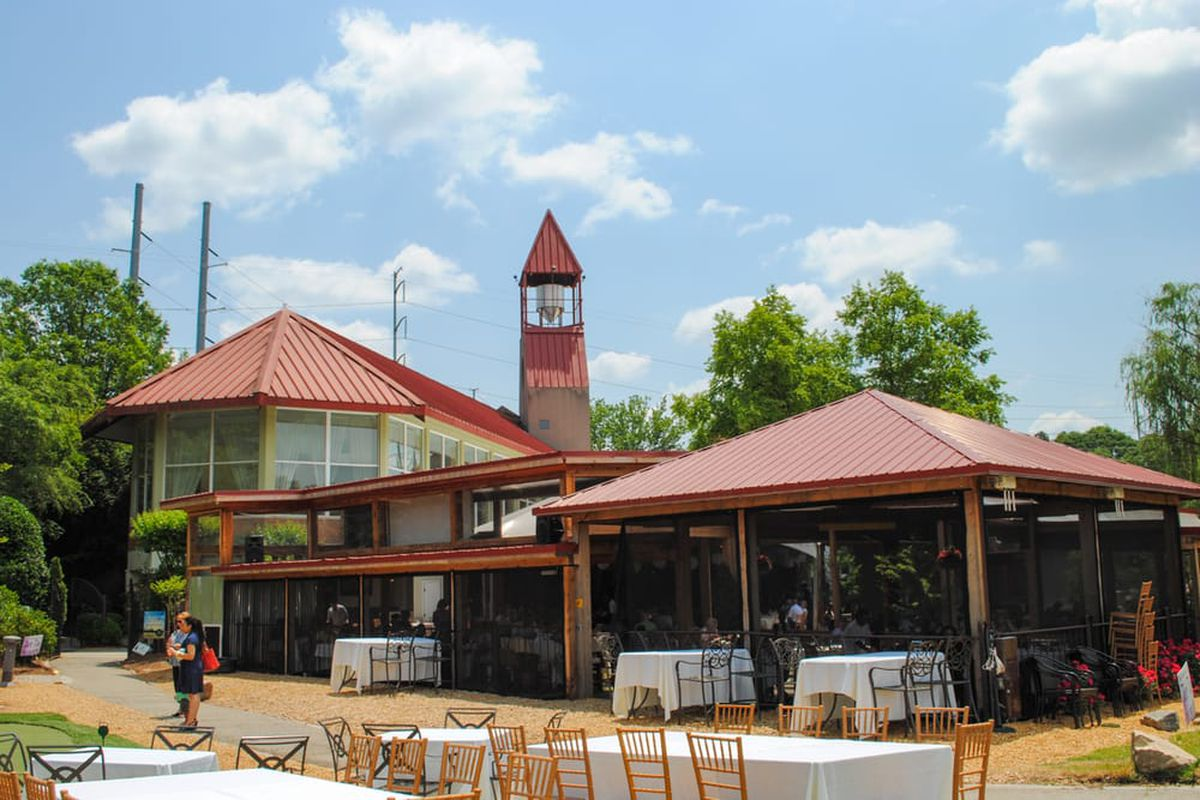 Exterior shot of Park Tavern