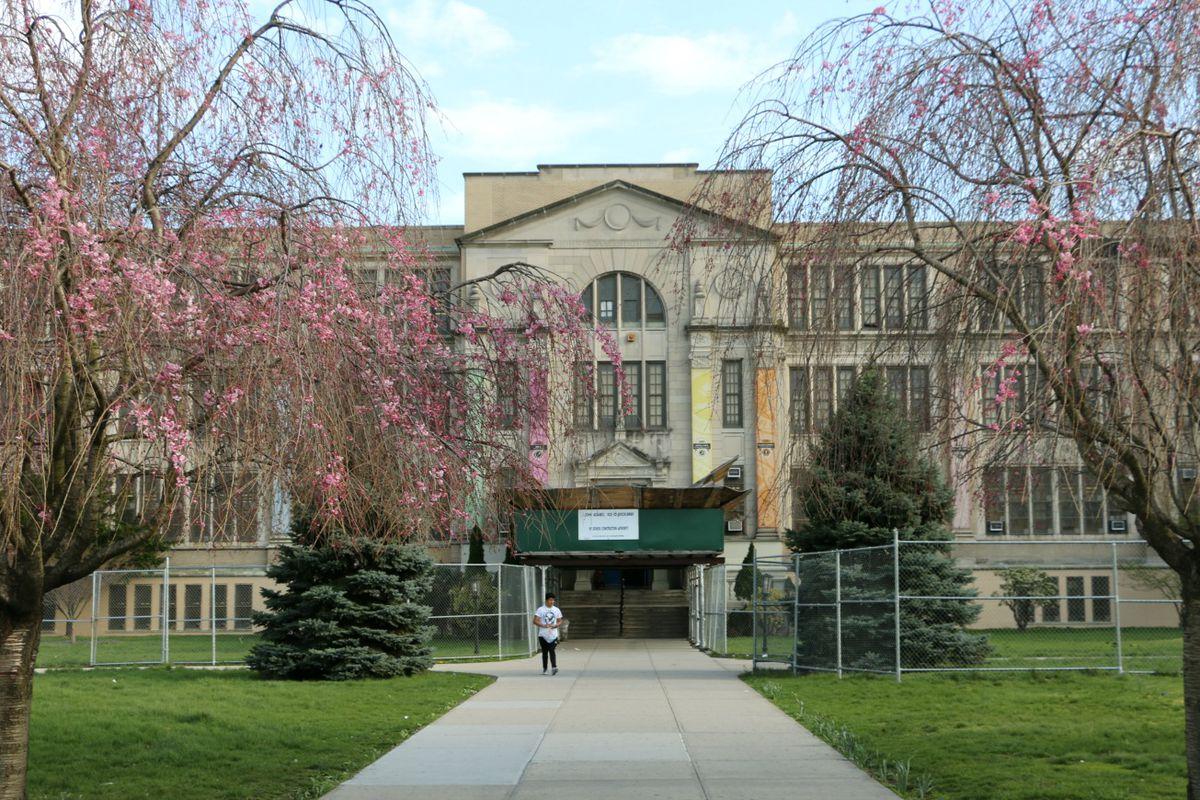 John Adams High School in Queens.