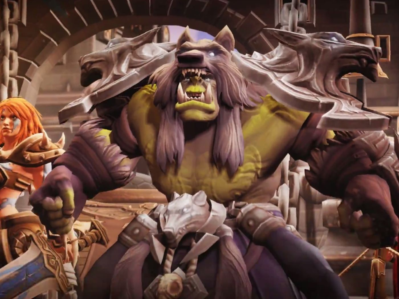 Heroes Of The Storm S Newest Character Plucked From World Of Warcraft S Comic Polygon Welcome to our talents page for rehgar. heroes of the storm s newest character