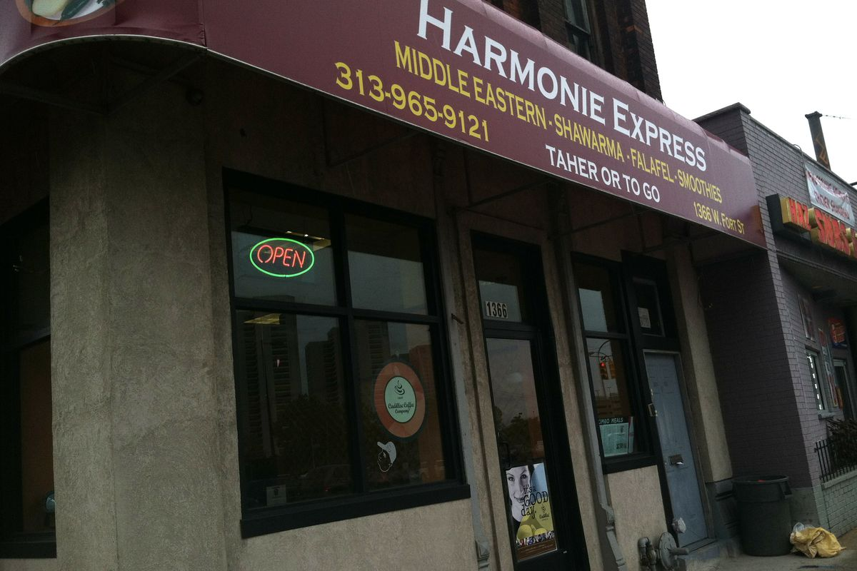Harmonie Express debuted less than two weeks ago on West Fort Street.