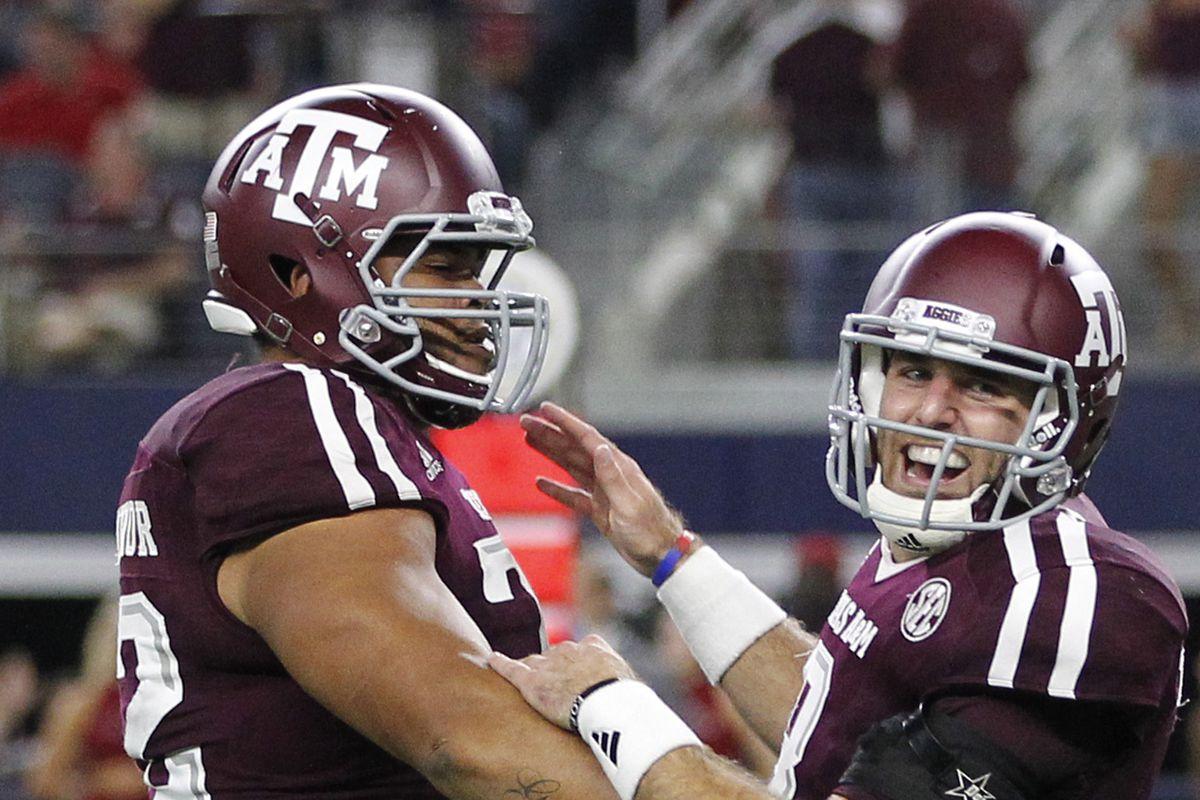 NCAA Football: Southwest Classic-Arkansas vs Texas A&M