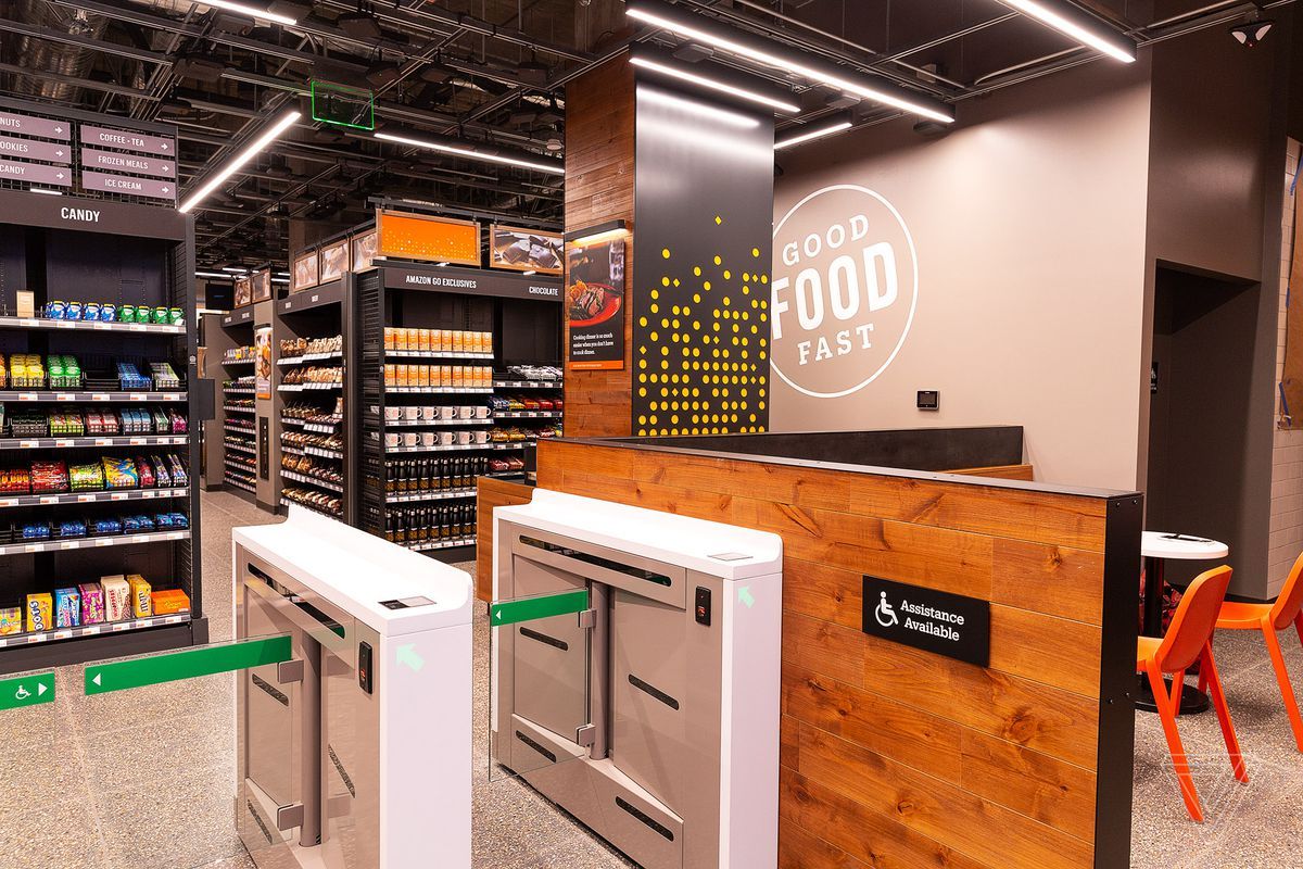 Amazon's latest cashier-less Go store opens in San Francisco