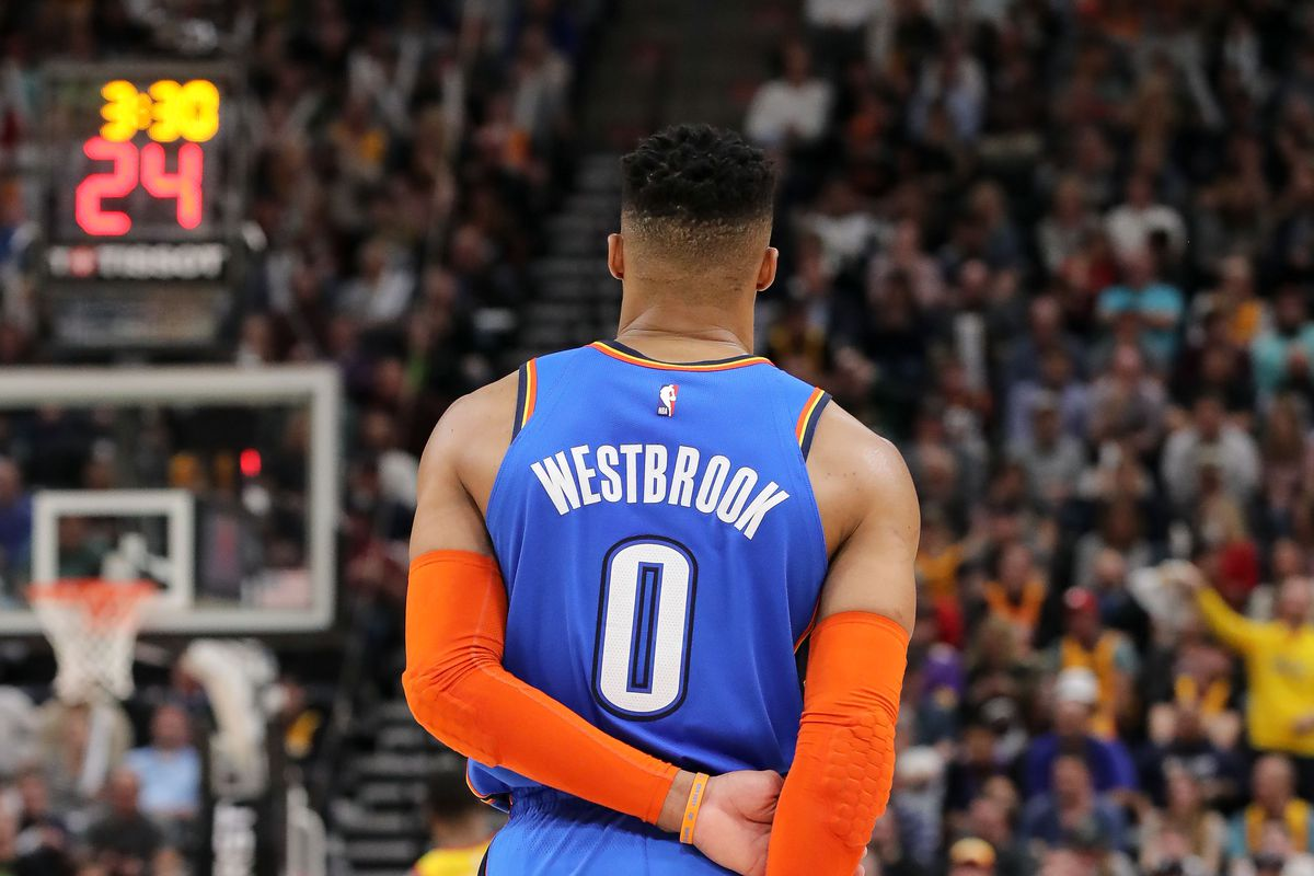 50cf59c93 The full story behind that video of Russell Westbrook telling a Jazz fan  he d  f ck you up