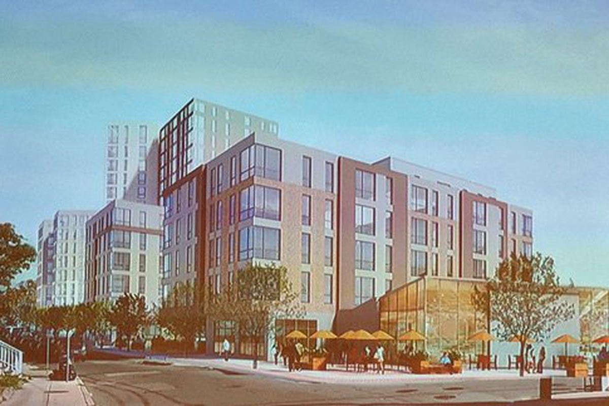 Allston development would spawn 353 apartments and condos, plus