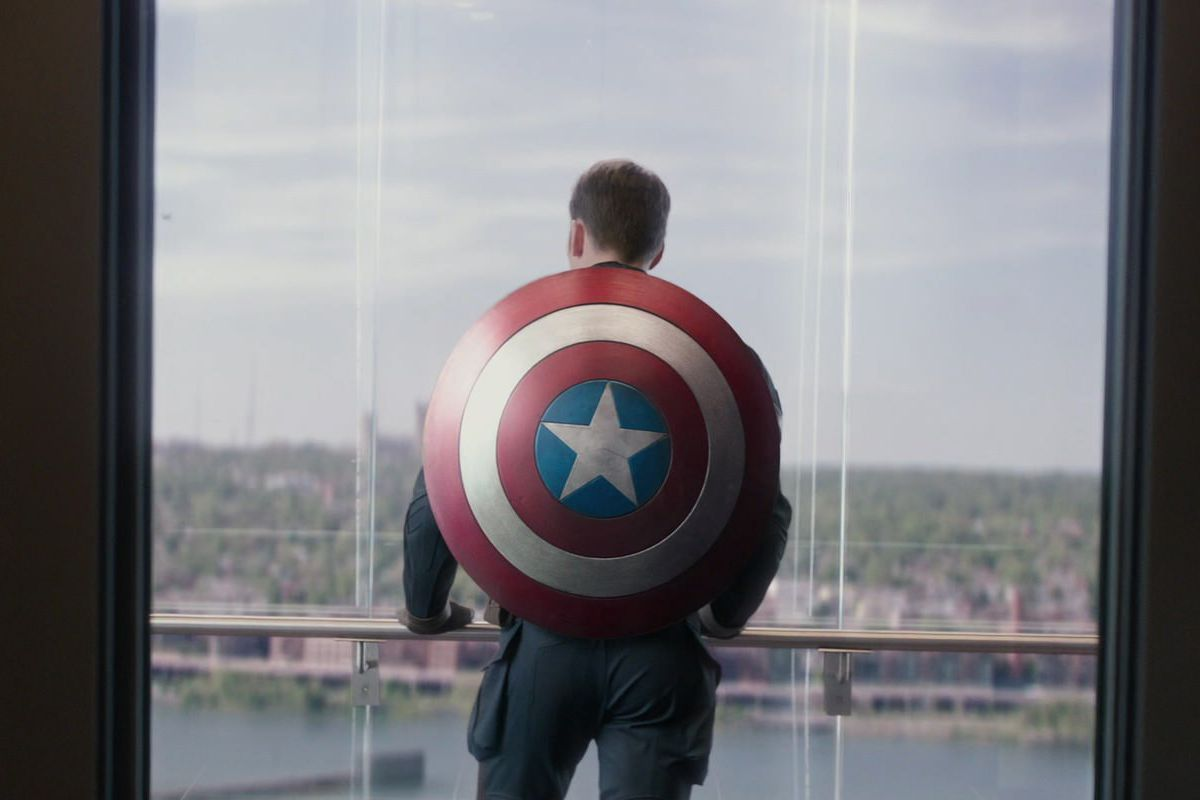 67e11a8a Avengers: Endgame's best Captain America moment was a nod to comic book  controversy