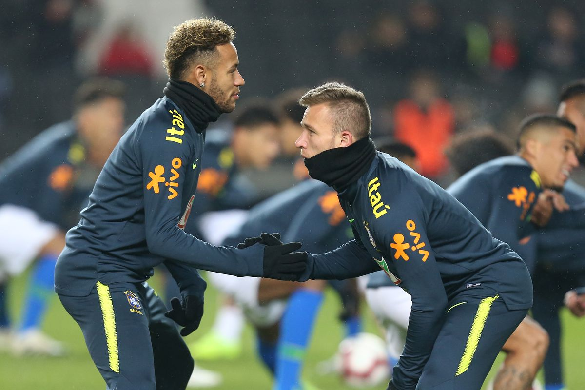 Arthur: I made a mistake going to Neymar's party