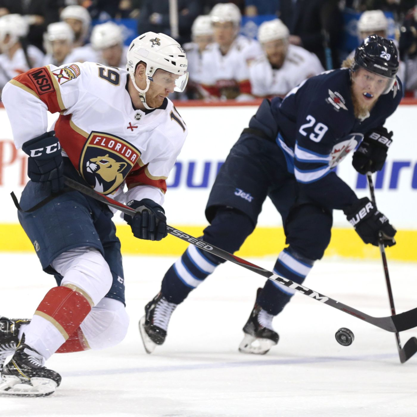 Recap Panthers Finnish Strong Topple Jets 4 2 In Helsinki Litter