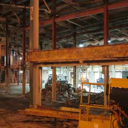 6:02 p.m. View showing some of the main concourse -