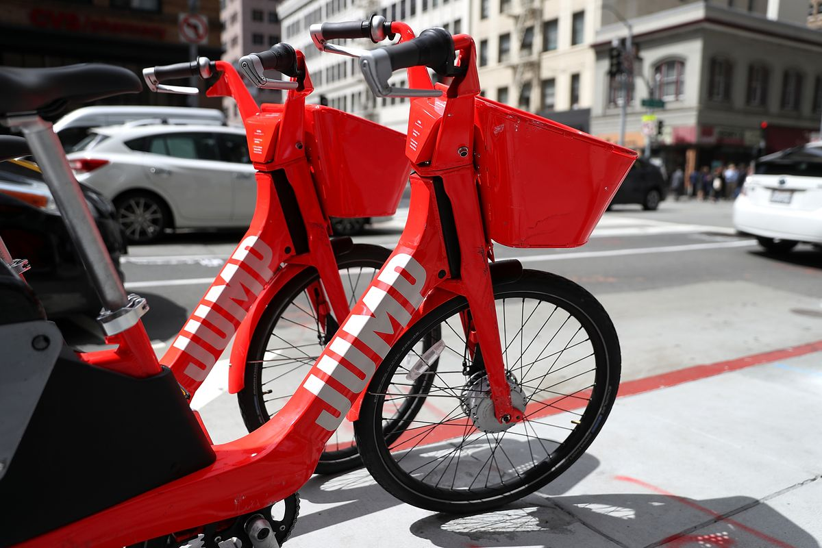 Uber S Jump E Bikes Coming To The Presidio Curbed Sf