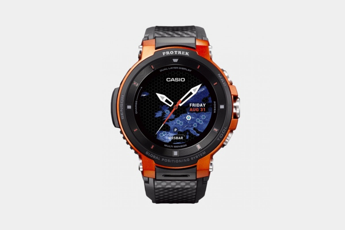 Casio S Newest Outdoor Wear Os Watch Is Its Smallest And
