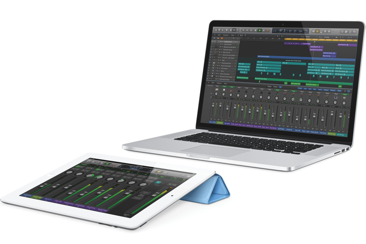 Apple gives musicians iPad control over updated Logic Pro X - The Verge