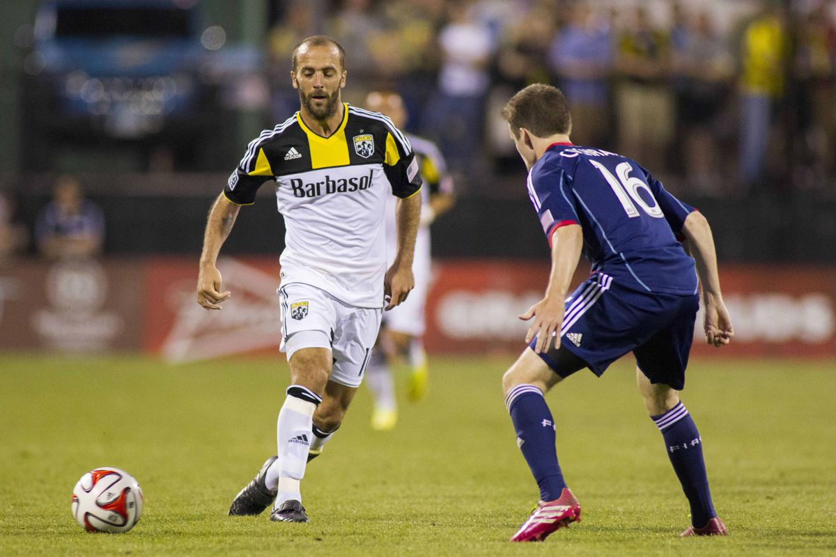 Federico Higuain won't be in the Columbus XI tonight, which is fantastic news for our erstwhile Kings of the Cup.