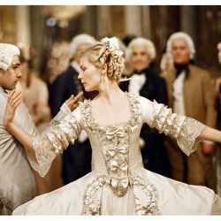 Marie Antoinette (2006): This movie was pure style-porn, and this stunner is the hardcore version.