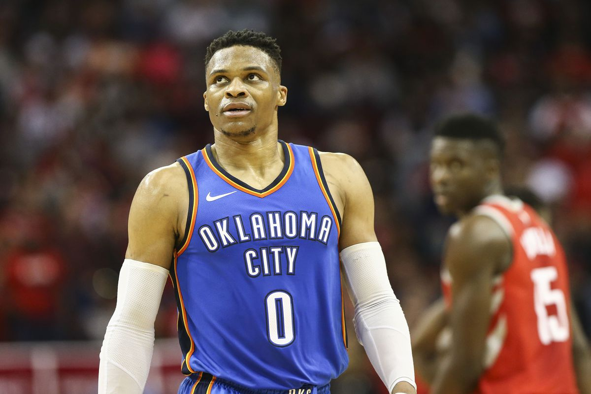 Completely new Russell Westbrook is first player to average a triple-double in  KA01