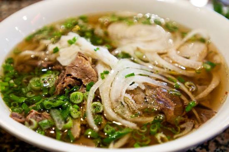 A collection of pho soups, plus a large menu of pan-Asian favorites can be ordered at Jasmine Express.