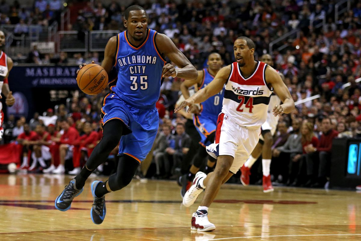 0813690e2fa Kevin Durant reminds Wizards why they want him so bad - Bullets Forever