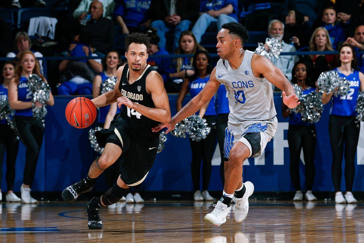 NCAA Basketball: Colorado at Air Force