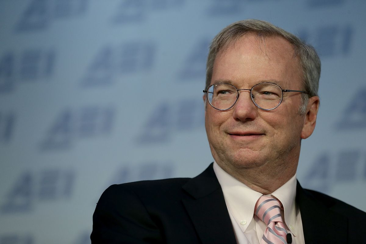 Eric Schmidt: 'Big data is so powerful, nation states will fight' over it