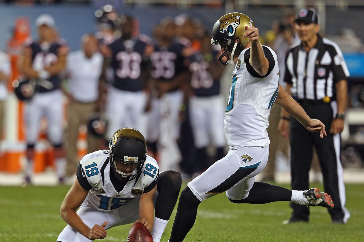 2b019d441 Jonathan Daniel. There was some concern that the Jacksonville Jaguars could  be without veteran kicker Josh Scobee ...