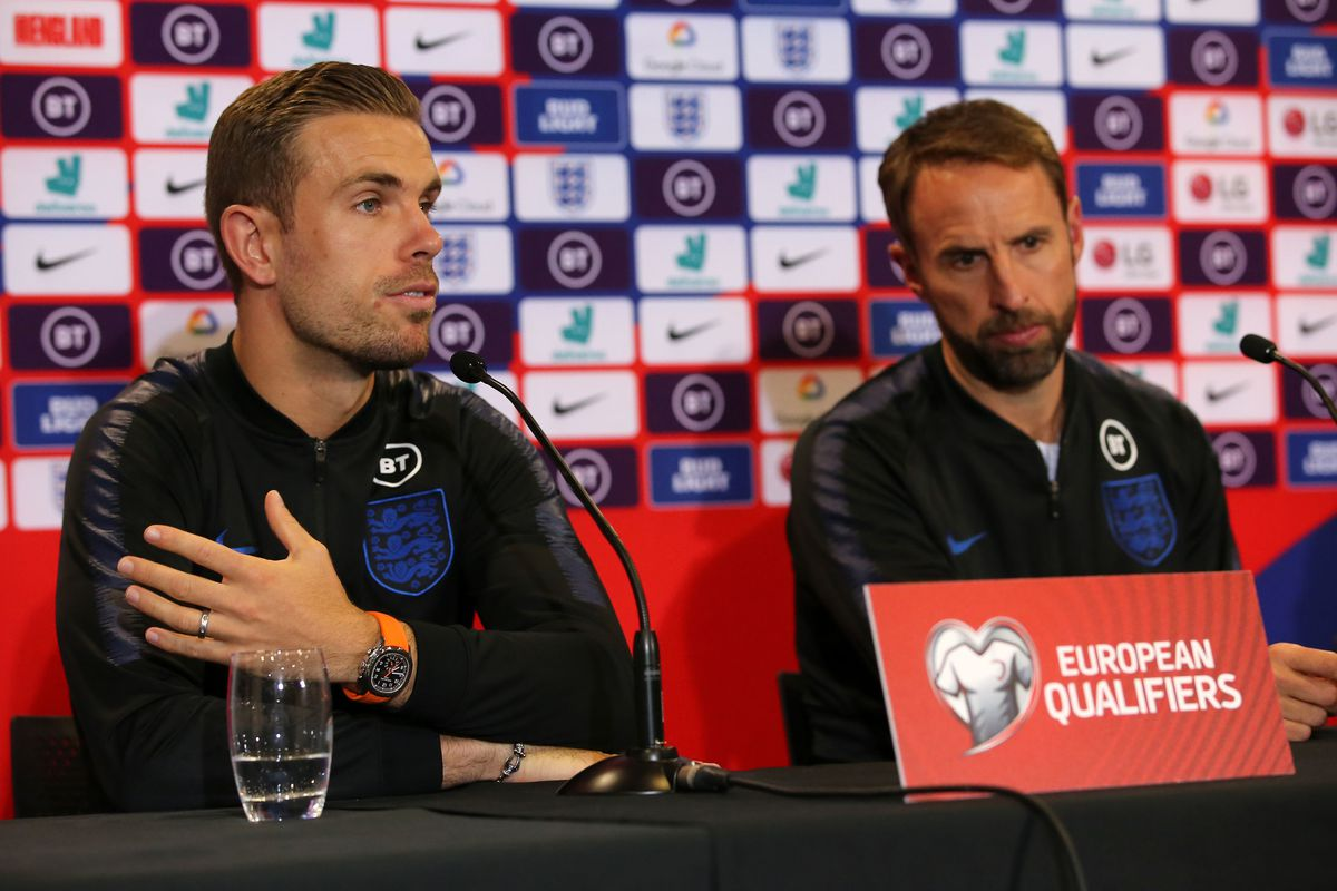 England Press Conference - St Mary's
