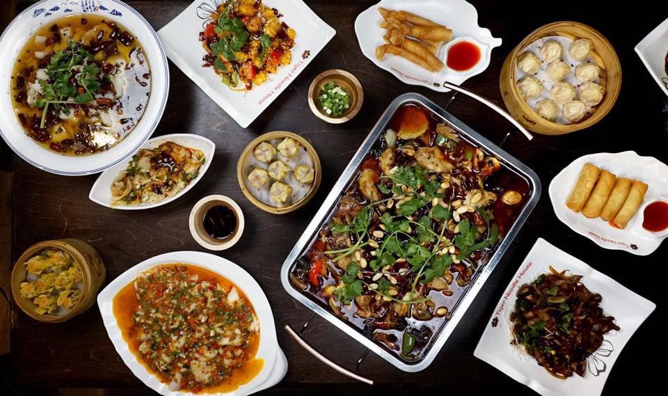 Dumplings, hot pot, and more Sichuan dishes