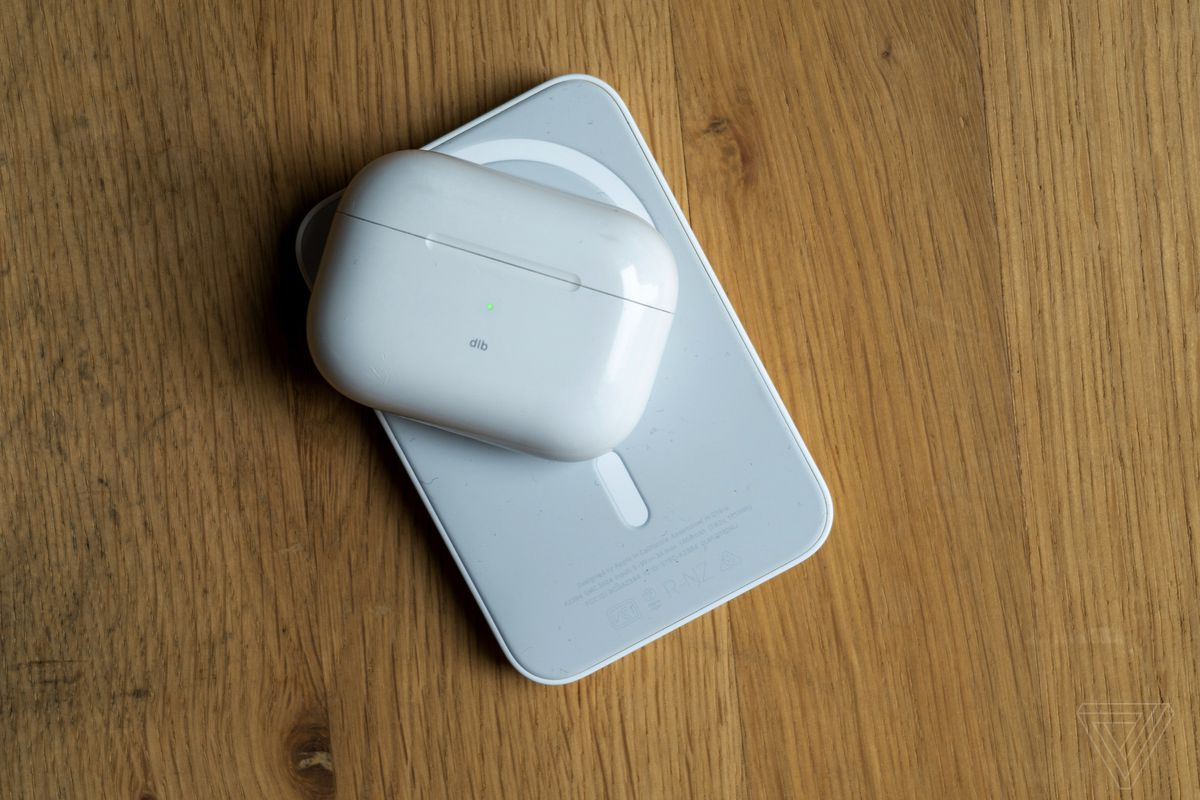 The MagSafe Battery Pack can also wirelessly charge AirPods