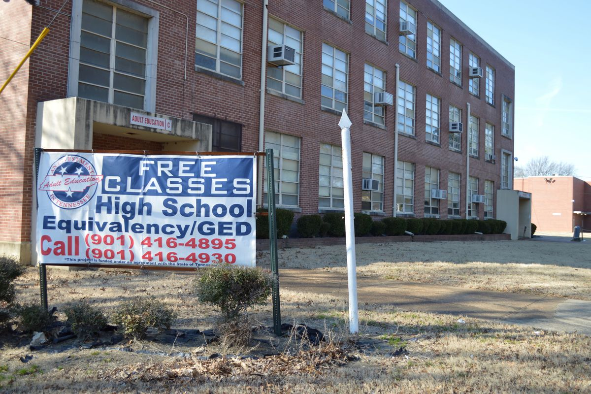 Messick Adult Center has been the home of Shelby County Schools' GED program, which will shut down this month as the state ends its adult education contract with the district.
