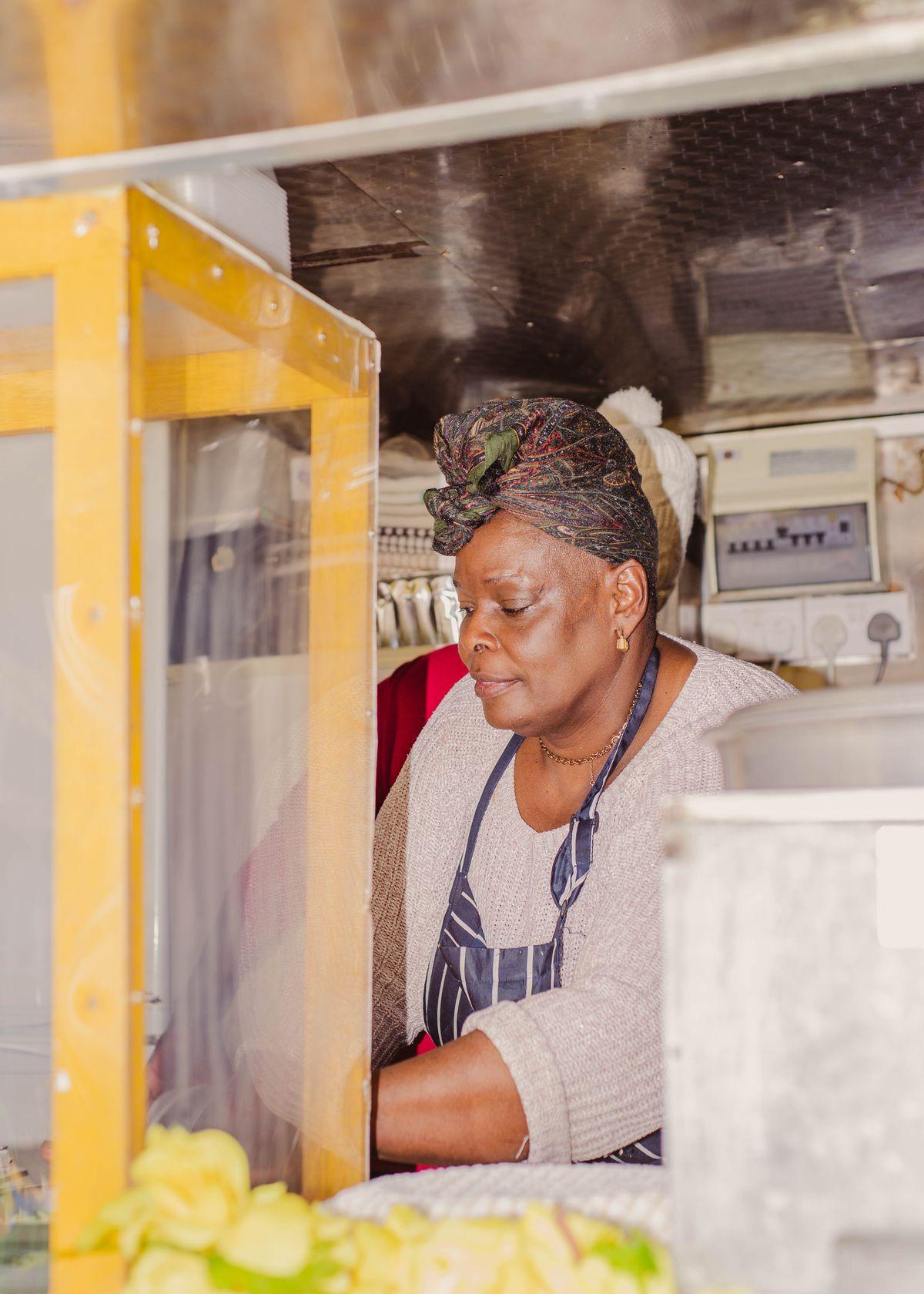 Faye Gomes, Elephant and Castle, kaieteur kitchen