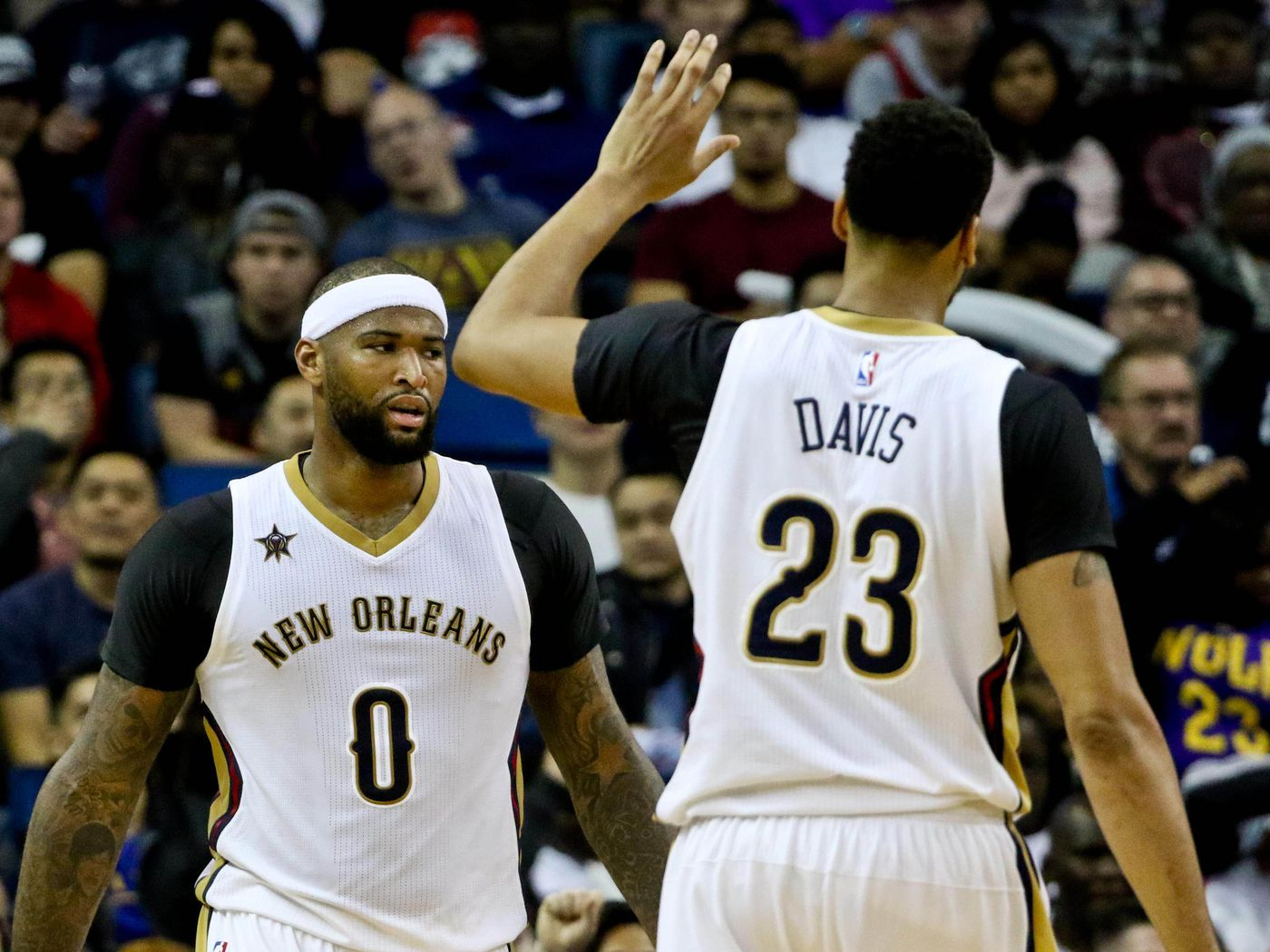 Demarcus Cousins Rajon Rondo And Updated Pelicans Uniforms
