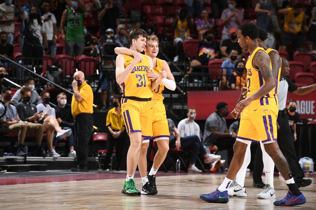 2021 Las Vegas Summer League - Los Angeles Lakers v Phoenix Suns