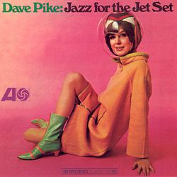 """An album cover featuring the famous Pucci uniform. Photo via <a href-""""http://www.discogs.com/Dave-Pike-Jazz-For-The-Jet-Set/release/1679235"""">Discogs.com.</a>"""