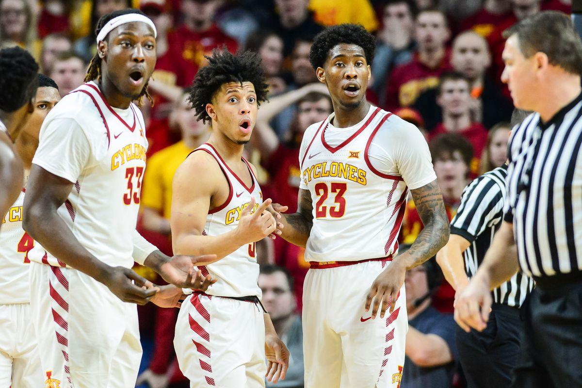 NCAA Basketball: Oklahoma at Iowa State