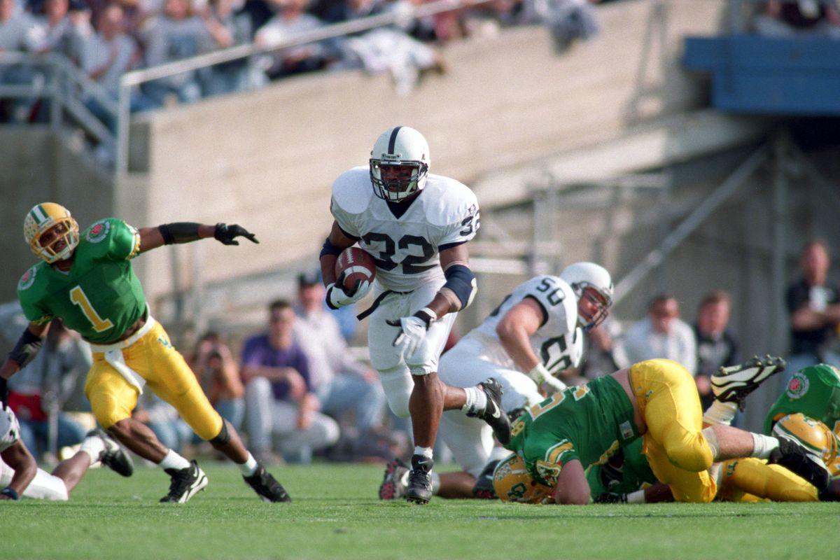 Bracketology Penn State S Best Running Backs Black Shoe Diaries