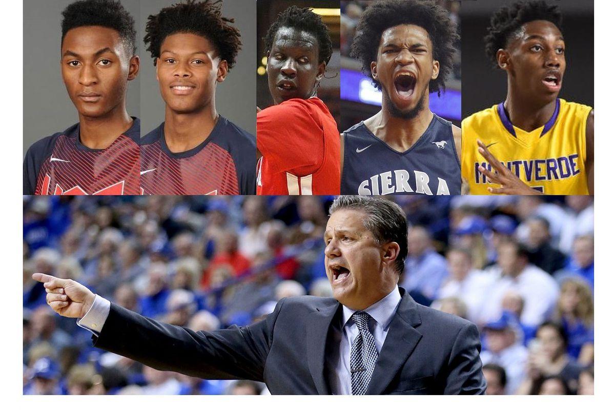 Kentucky Basketball Recruiting In 2017 Class: Kentucky Basketball Recruiting: Scout Updates Rankings For
