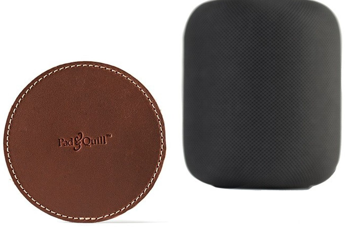 here s an idea stick a coaster under your homepod