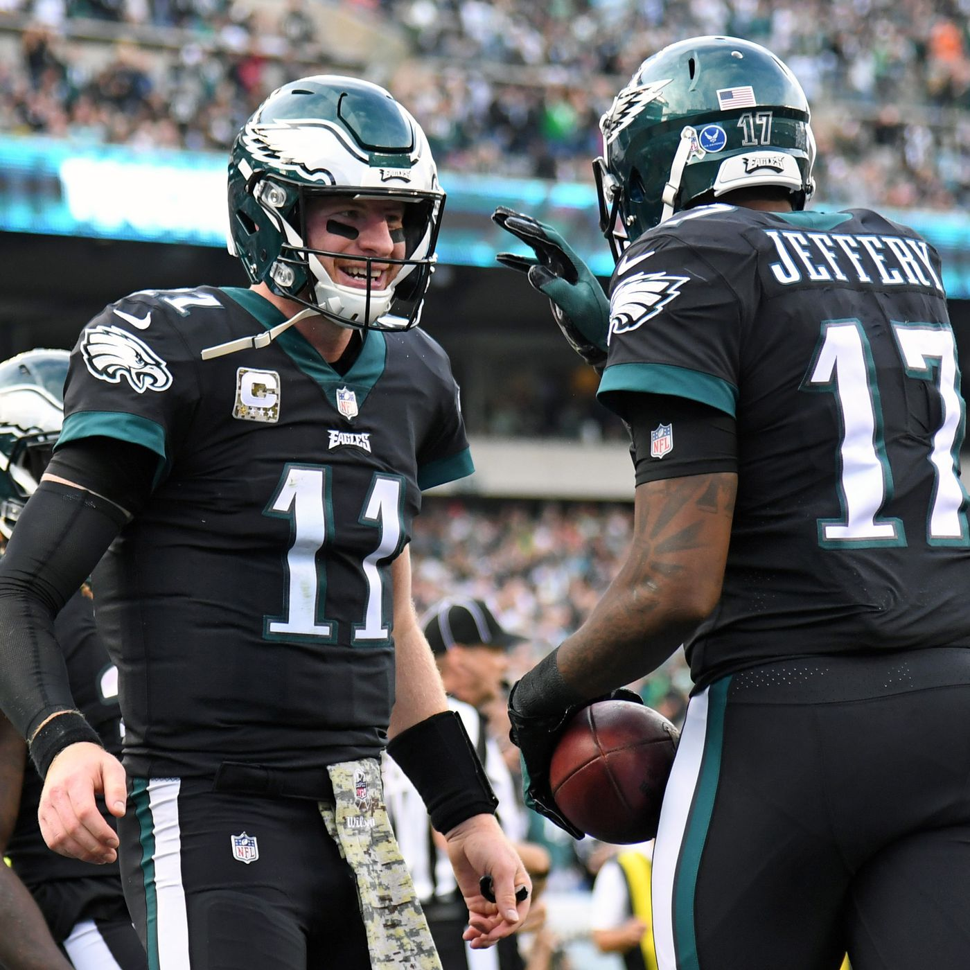 size 40 df8c4 87d76 Eagles breaking out black jerseys for Week 10 Cowboys game ...