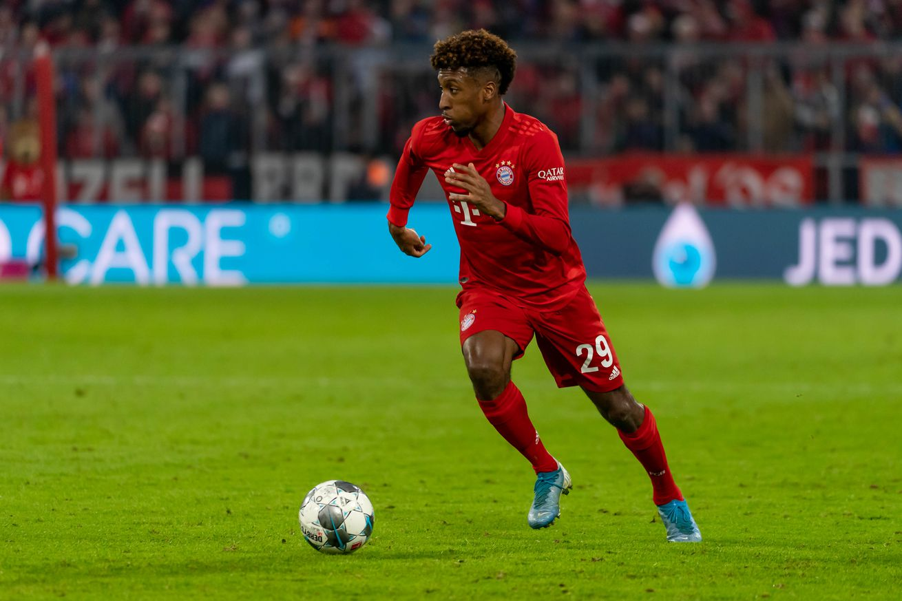 Kingsley Coman says he?s aiming to break his single-season record of 12 goals