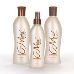 """Your hair isn't just getting frizzy in unsavory weather conditions, it's aging! Fight off Father Time with the moisture and hair restoring proteins found in G Mele's Anti-Aging Hair Care Trio, $49.95 at <a href=""""http://www.giovannipileggi.com/"""">Giovanni &"""