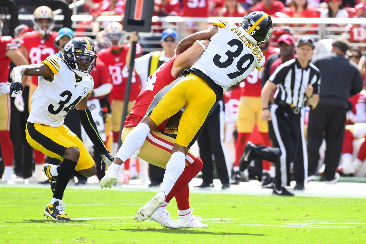 NFL: SEP 22 Steelers at 49ers