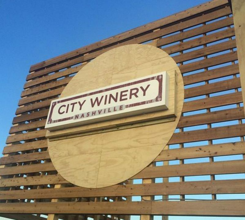 City Winery Sign