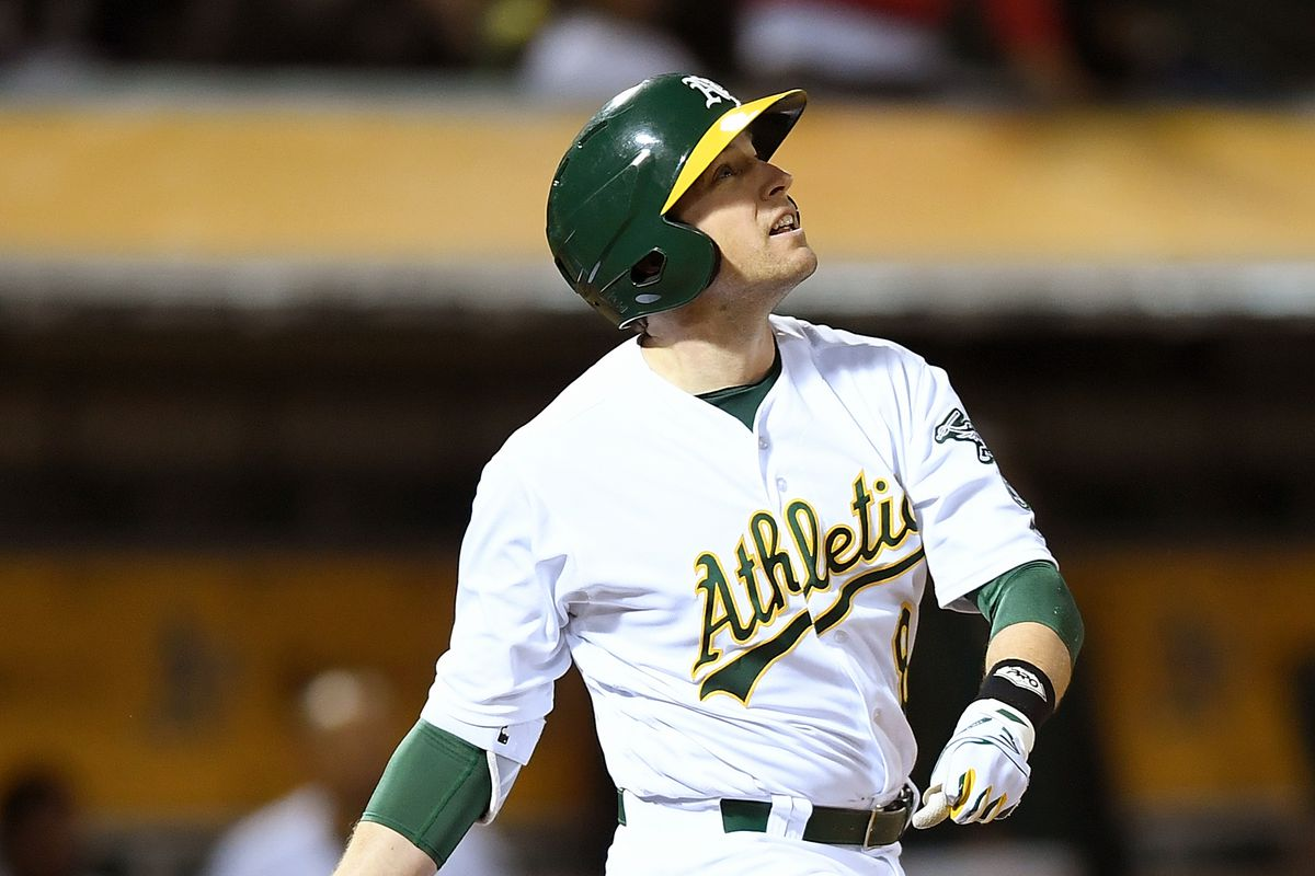 Your A's team leader in RBI. And errors. But focus on the RBI.