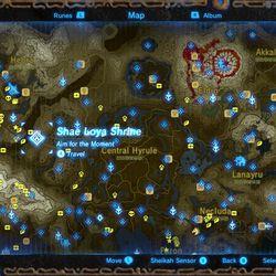 Shae Loya shrine map location