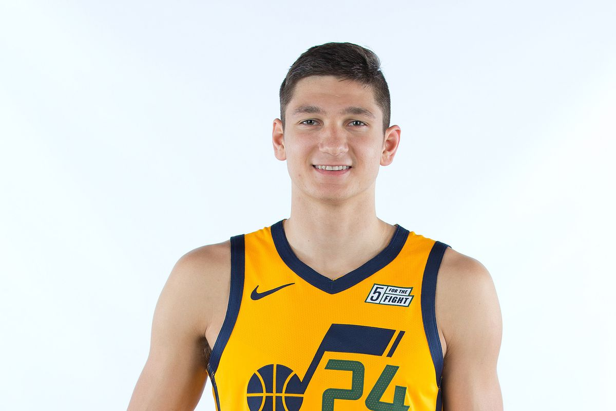 pretty nice 06039 ad37f Grayson Allen Does Well In His First Jazz Outing - Duke ...