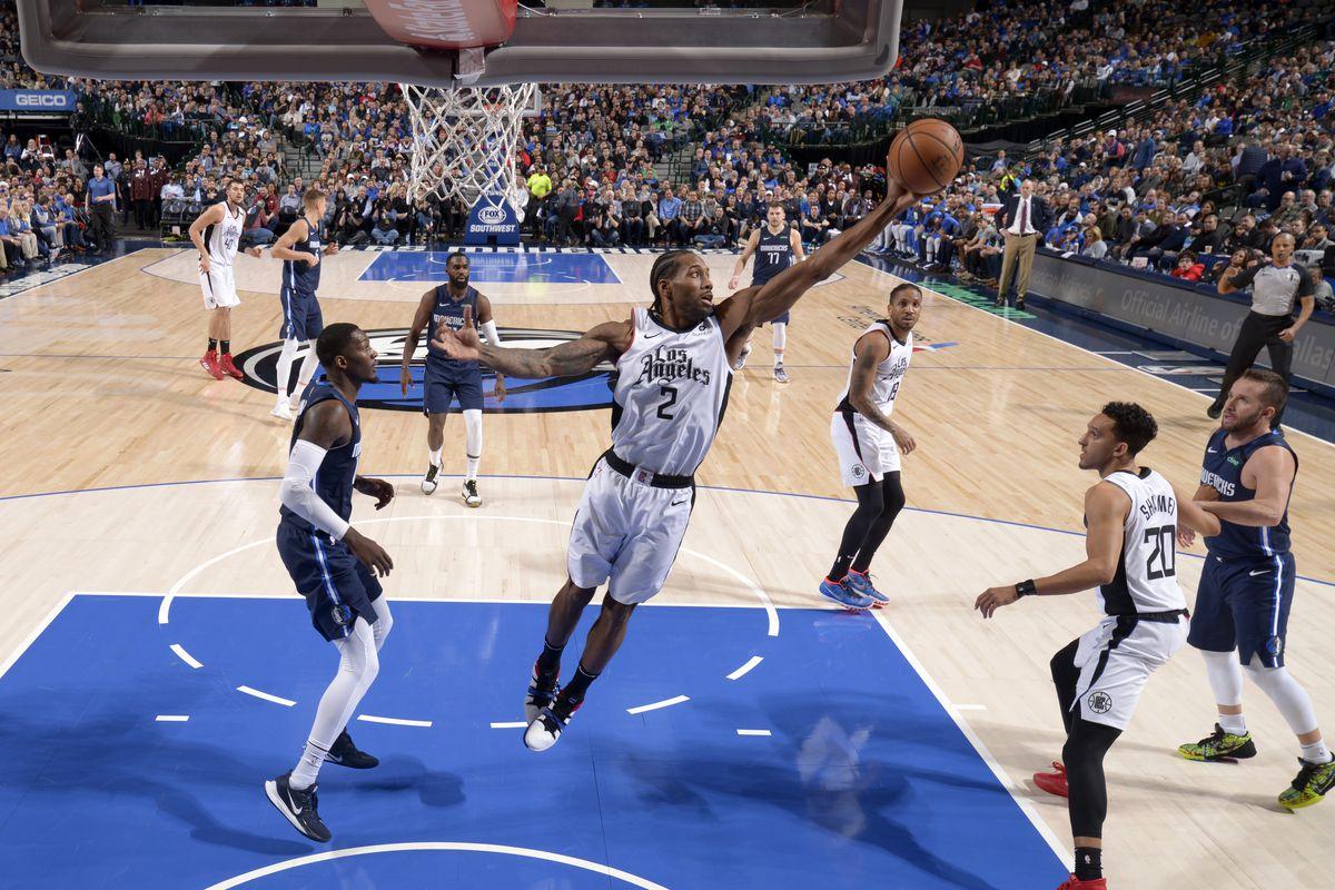 LA Clippers v Dallas Mavericks