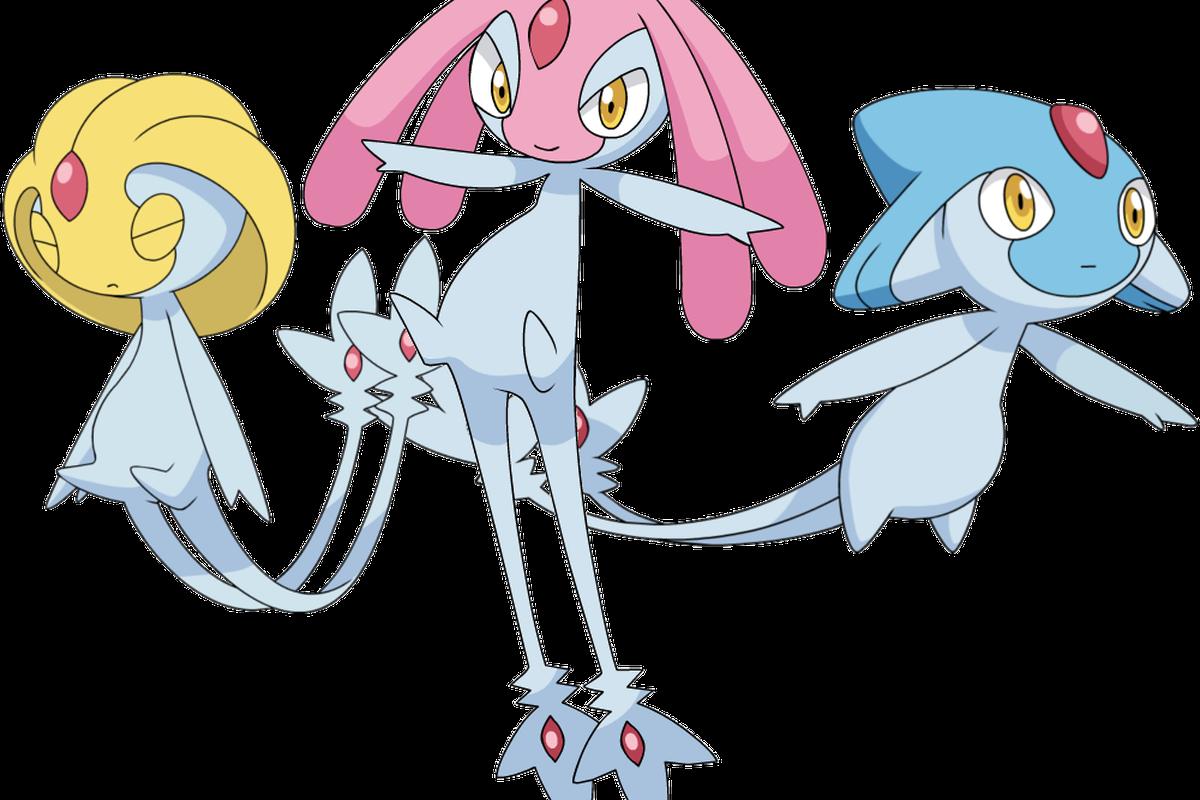 Pokémon Go guide: Azelf, Mesprit, and Uxie raid counters